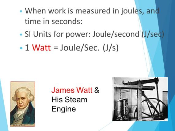 James Watt - SI Unit Watt