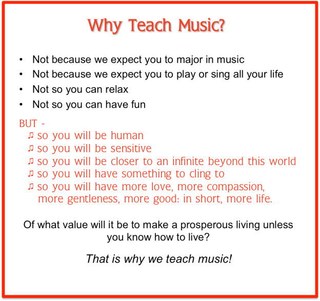Why Teach Music-2