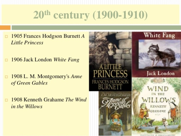 10 - 20th century (1900-1910) - Anne of Green Gables