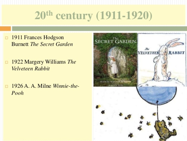11 - 20th century (1911-1920) - The Secret Garden
