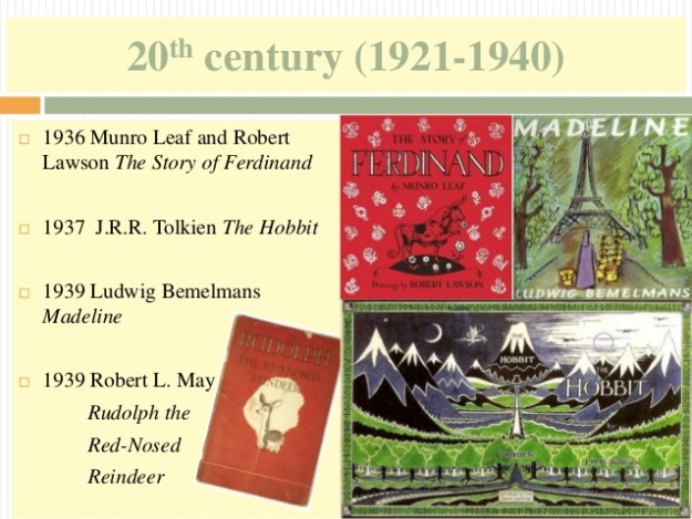 13 - 20th century (1921-1940) - The Hobbit