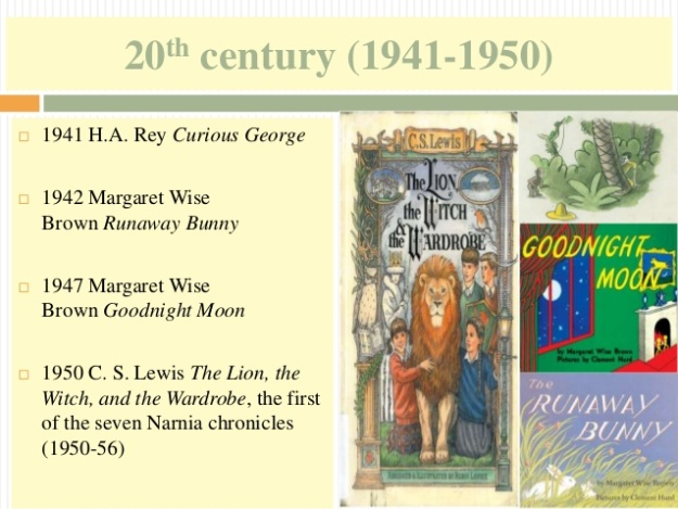 14 - 20th century (1941-1950) - The Lion, the Witch, and the Wardrobe