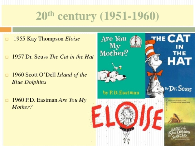 16 - 20th century (1951-1960) - The Cat in the Hat