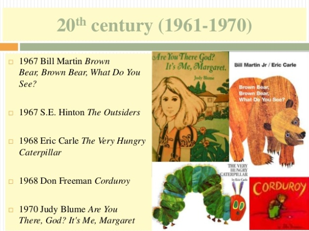 18 - 20th century (1961-1970) - The Very Hungry Caterpillar