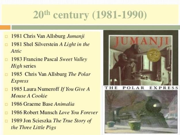 20 - 20th century (1981-1990) - The Polar Express