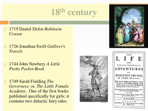 4 - 18th century - Robinson Crusoe