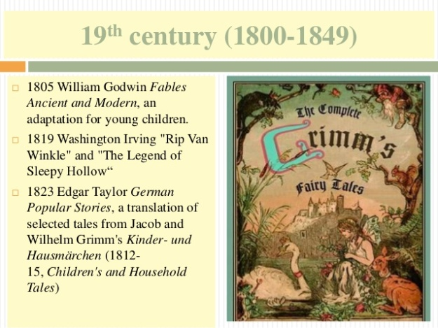 5 - 19th century (1800-1849) - Grimm's Fairy Tales