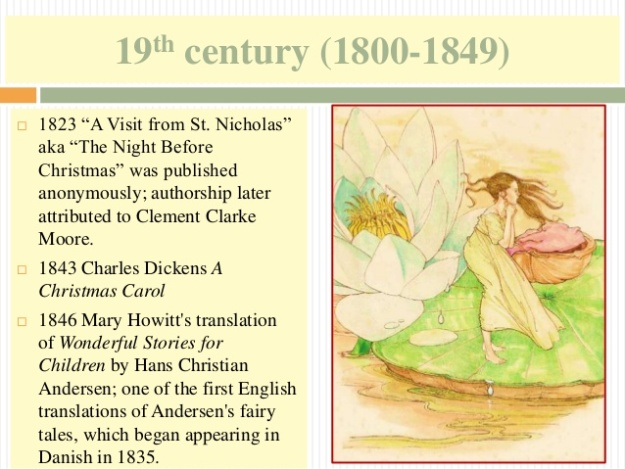 6 - 19th century (1800-1849) - A Christmas Carol