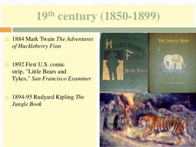 8 - 19th century (1850-1899) - The Adventures of Huckleberry Finn