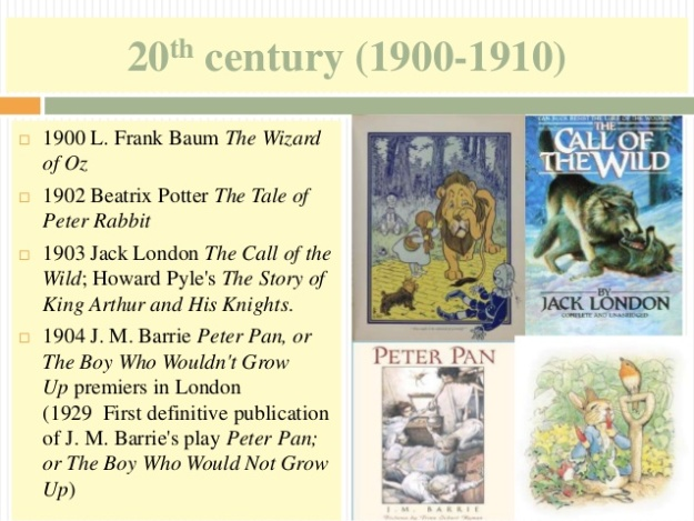 9 - 20th century (1900-1910) - Peter Pan