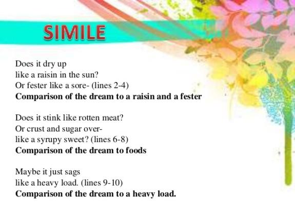 Dream Deferred - Simile