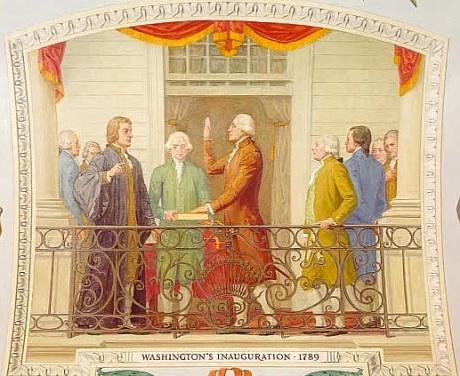 Washington in Anuguration