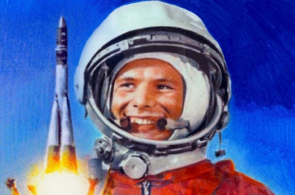 Yuri Gagarin and Shuttle