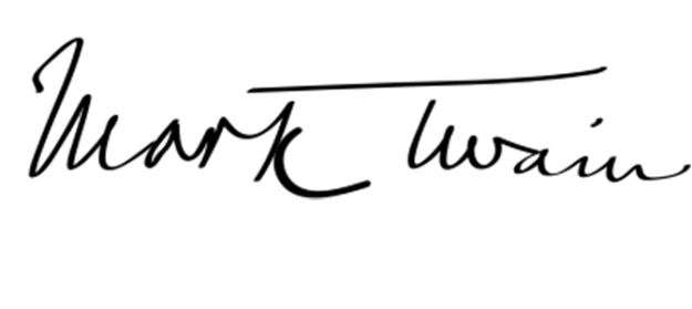 Image result for mark twain signature