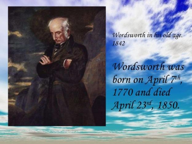 William Wordsworth 1770-1850
