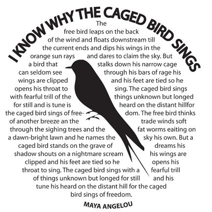 Maya angelou i know why the caged bird sings essay | Coursework ...