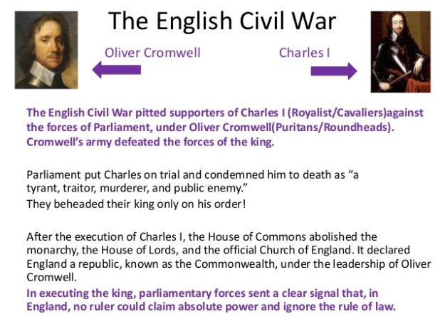Oliver Cromwell - Charles 1