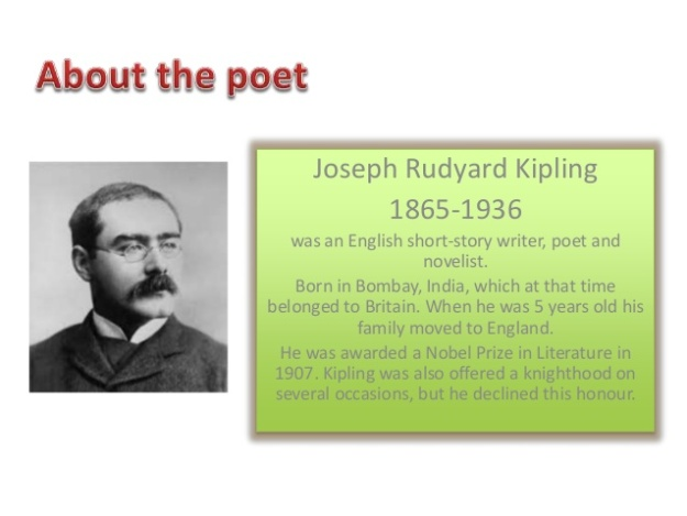 a biography of rudyard kipling Joseph rudyard kipling is considered one of the greatest english writers in history and is particularly renowned for his writings about india and the raj.