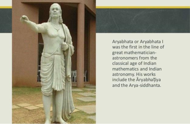 Aryabhatta Statue