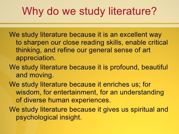 why-study-literature