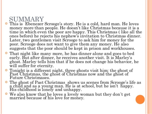A Christmas Carol Summary.Who Wrote A Christmas Carol Know It All