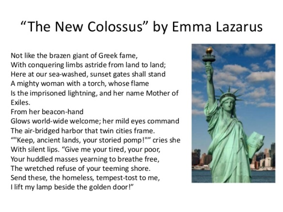 Who Wrote The New Colossus Know It All
