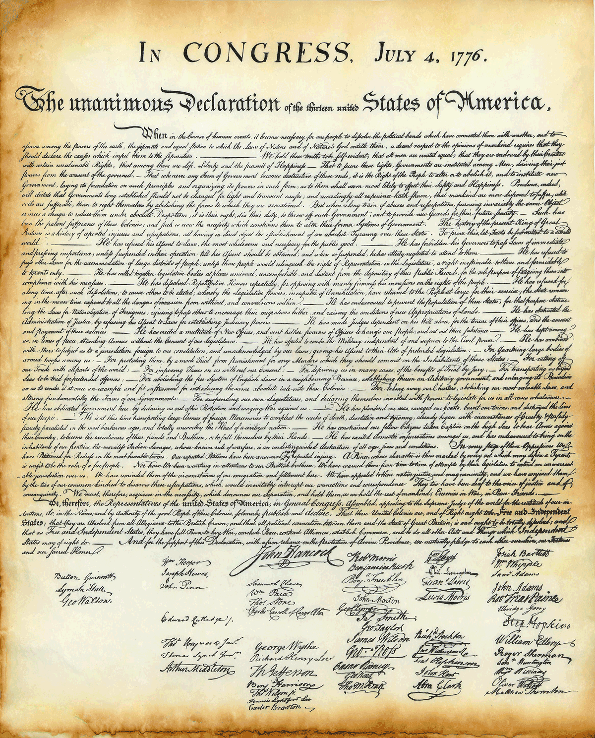 an introduction to the declaration of independence by thomas jefferson The declaration of independence an analytical view  thomas jefferson the declaration of independence (1776)  the preamble: a preamble is a preliminary statement, especially the introduction to a formal document that serves to explain its purpose in this instance, jefferson.