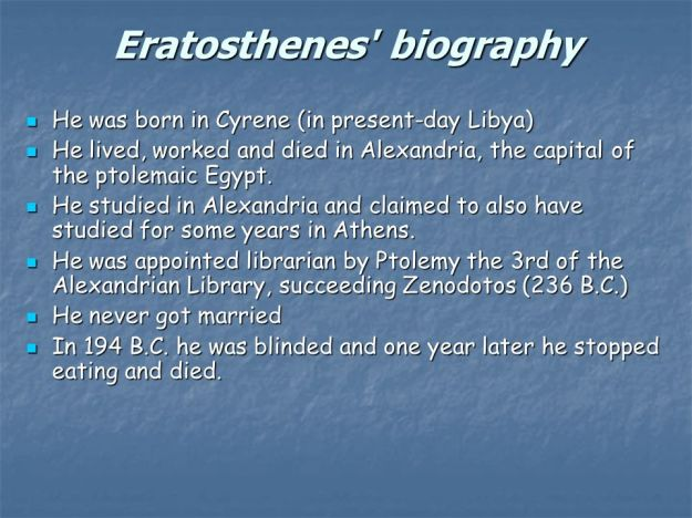 eratosthenes-biography