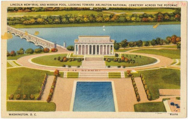 lincoln-memorial-postcard