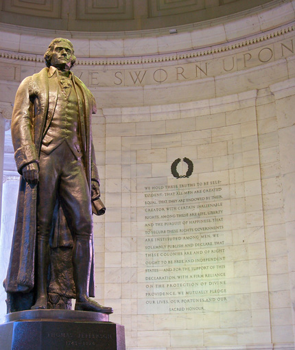 thomas-jefferson-statue-and-quotes