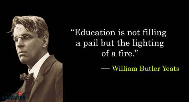 william-butler-yeats-quotes-about-education