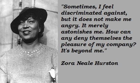 literature know it all page  zora neale hurston