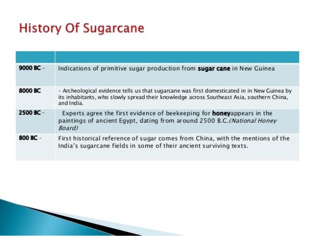 History of Sugarcane 1