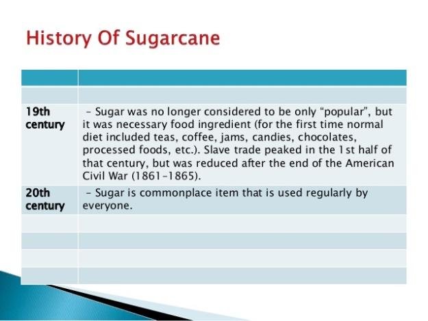 History of Sugarcane 8
