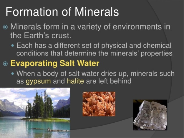 Mineral Formation 1