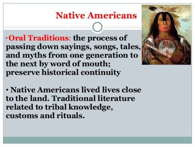 Native American Literature 2