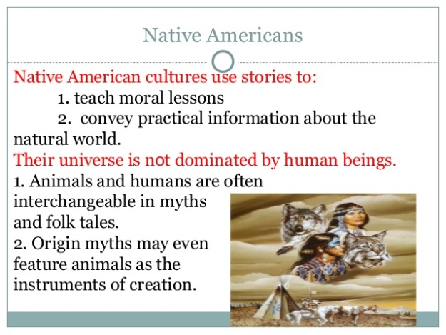 Native American Literature 4