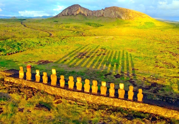 Moai Statues Easter Island Virtual Tour