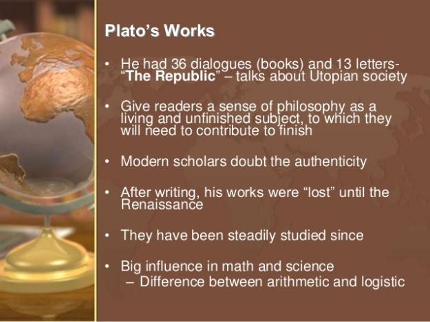 Plato's Works