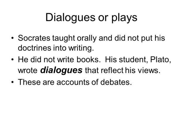 Socrates Dialogues