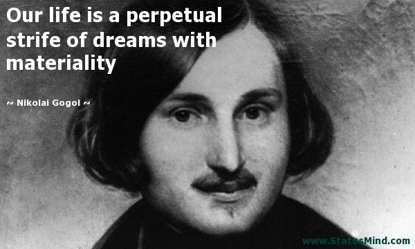 Nicolai Gogol Quotes