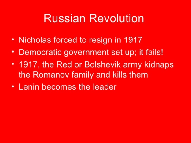 Russian History Timeline 7