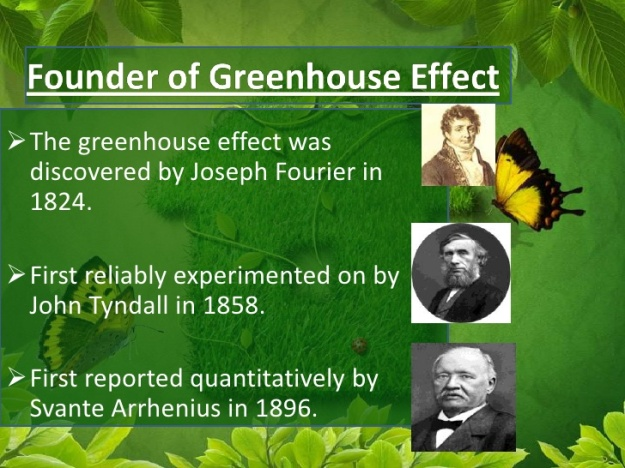 Who discovered the Greenhouse Effect