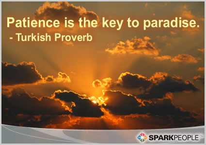 Turkish Proverb - Patience is the Key to Paradise