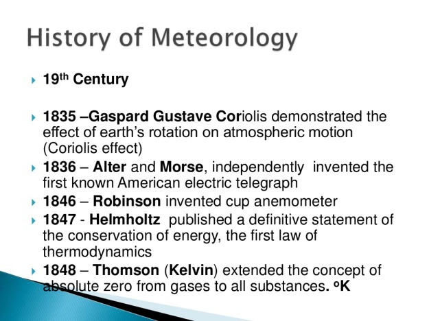 History of Meteorology 10