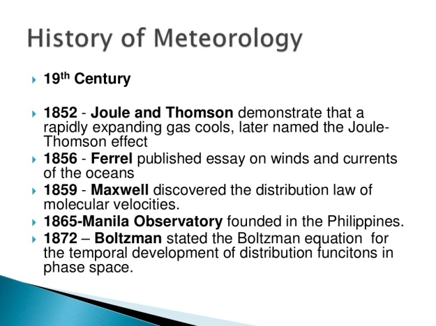 History of Meteorology 11