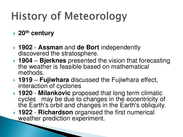History of Meteorology 12