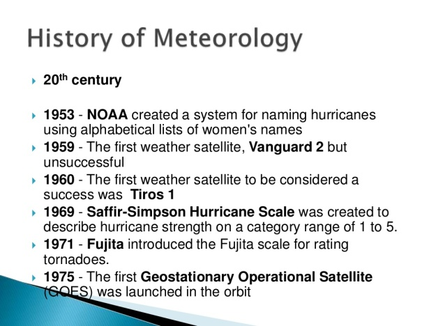 History of Meteorology 14