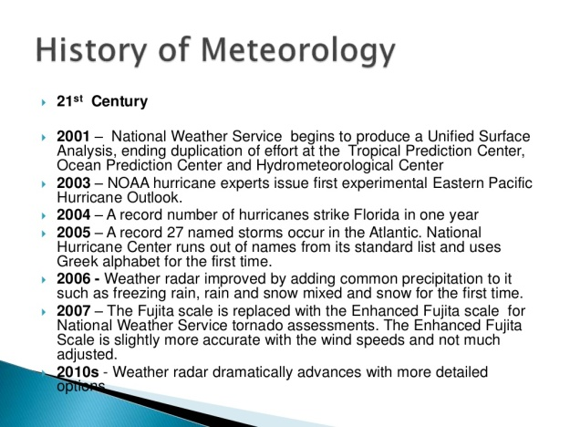 History of Meteorology 16