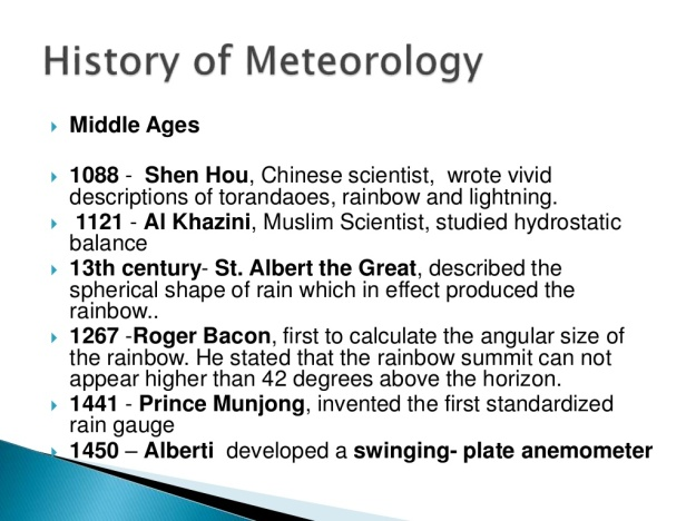 History of Meteorology 3